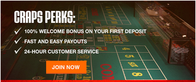 Bonuses to Grab when playing Craps Online