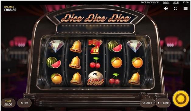 Dice Dice Dice pokies game symbols