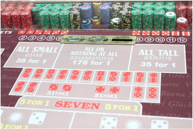 Four Craps side bets to use when playing Craps at online casinos