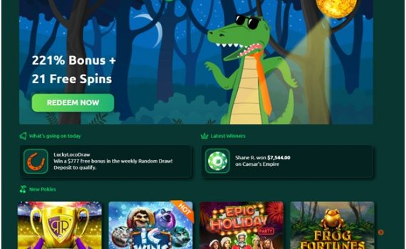 How to play craps at play croco casino online