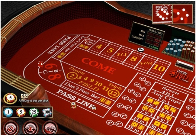 How to play craps at Play Croco online
