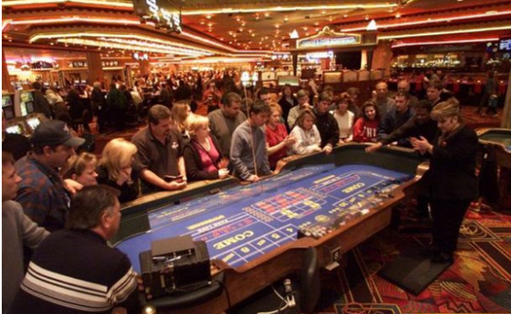 Play Craps in Las Vegas
