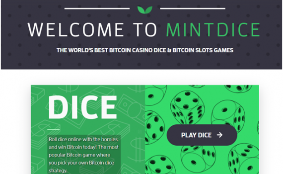 The new Bitcoin casino to play Craps, Dice Games and Pokies
