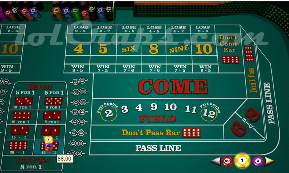 Yo Bet in Craps