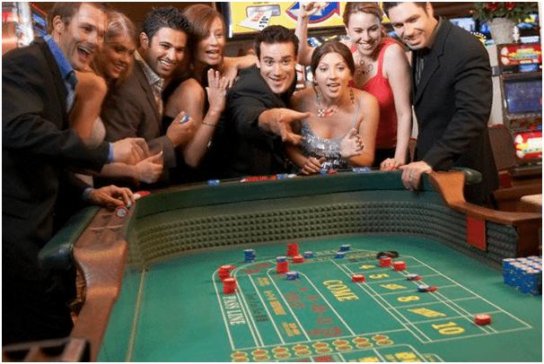 Craps at casinos