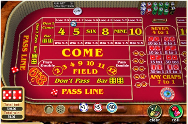 bet variations in craps