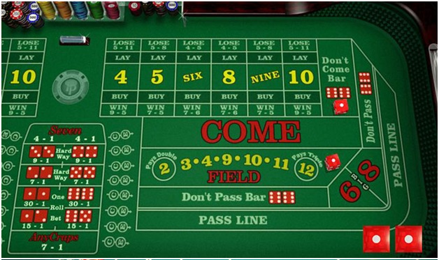 How to play free Craps at online casinos?