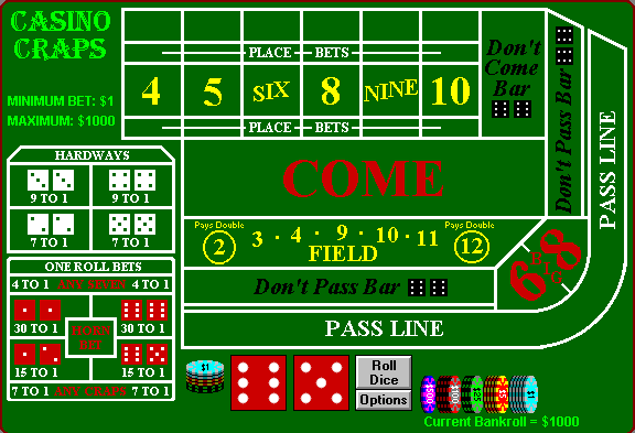 point 7 side bet craps